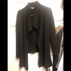 Vince draped front cardigan